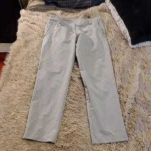 Light gray Adidas golf pants size 14